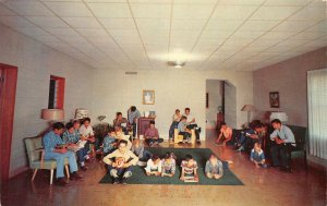 BOYS CITY Highway 77 near Driscoll, Texas Home for Homeless Boys c1950s Postcard