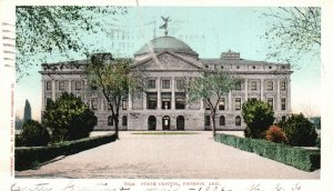 Phoenix, Arizona, AZ, State Capitol, 1906 Undivided Back Vintage Postcard g5713