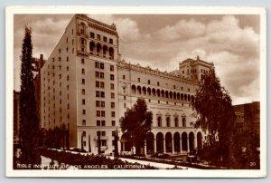 Los Angeles California~Bible Institute~Reverend TC Horton~1920s Cars~RPPC