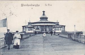 BLANKENBERGHE, West Flanders, Belgium, PU-1913; Le Pier