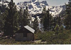 Sierra Buttes - Mountains - from Lower Sardine Lake CA, California