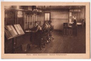 Paris - Hotel Continental - Central Telehonique / Telephone