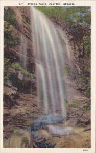 Stecoa Falls Clayton Georgia