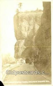 Real Photo - Oneonta Gorge Tunnel Columbia River Highway OR Unused