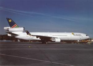 AIR NAMIBIA, MD-11, unused Postcard