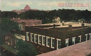 Alabama Marion Birds Eye View With Judson College