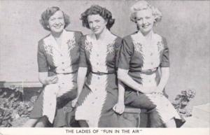 Cecil Johnson's Fun In The Air 1951 The Ladies