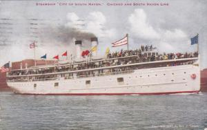 Oceanliner/Ship/Steamer City Of South Haven, Chicago And South Haven Line, ...
