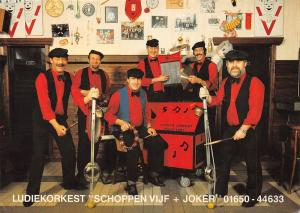 Netherlands Ludiekorkest Schoppen Vijf + Joker music band Cafe