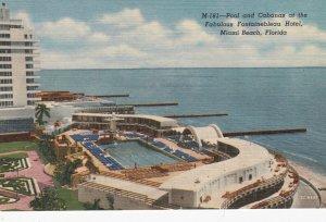 MIAMI BEACH , Florida , 1930-40s ; Fontainebleau Hotel Pool