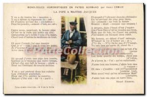 Postcard The Old Pipe Maitre Jacques