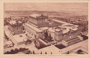Reconstitution Des Temples De Jupiter-Helios, De Bacchus Et De Venus, A BAALB...