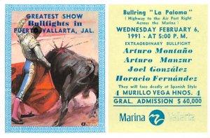 Bullring La Paloma Tarjeta Postal Bullfighting Unused