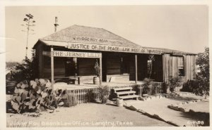 RP, LANGTRY , Texas , 30-40s Judge Roy Bean's Law Office