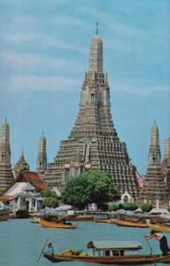 Thailand Thonburi Wat Arun Temple Of Dawn