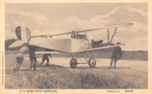 U.S. Speed Scout Aeroplane, Airplane, Aircraft