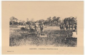 Benin; Dahomey, Artillery At Porto Novo, 1914 PPC, By ER, Unused, c 1920's