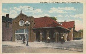 CHILLICOTHE , Ohio, 1915 ; Scioto Valley Co. Depot