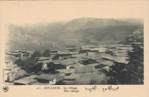 Morocco Ain-Leuh The Village 1920s-30s
