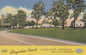 LITTLE ROCK , Arkansas , 30-40s; Magnolia Court Motel