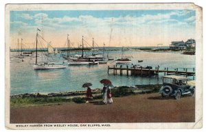 Oak Bluffs, Mass, Wesley Harbor From Wesley House