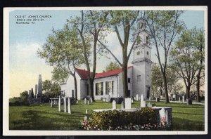 Virginia RICHMOND Old St. John's Church, Broad and 25th Street - WB