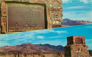 Bullfrog Rhyolite Cemetery Nevada Colorpicture Ghost Town Postcard 20-13998