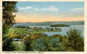 VT - Rutland. Prospect Point, Lake Bomoseen