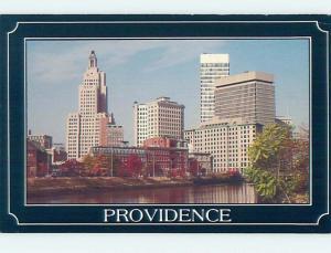 Unused 1980's SKYLINE Providence Rhode Island RI hn2965