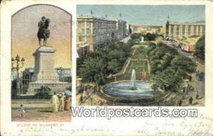 Alexandrie Eqypt Statue de Mohamed Ali  Statue de Mohamed Ali