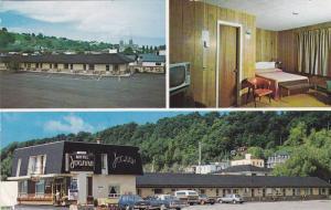 3-Views, Motel Joanne Hotel, Ste. Anne de Beaupre, Quebec, Canada, 40-60s
