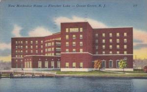 New Jersey Ocean Grove New Methodist Hospital Fletcher Lake 1952