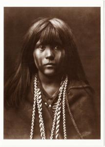 Mosa Mohave Native American in 1903 Native American Modern Postcard