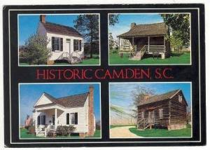 Reconstructed Colonial Village, Camden, SC, 40-60s
