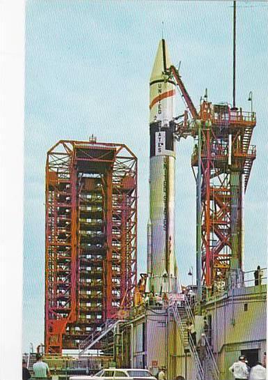 Florida Atlas Centaur Hours Before Lift Off John F Kennedy Space