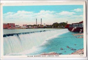 The Dam, Merrimac River, Lawrence MA