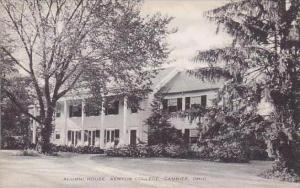 Ohio Gambier Kenyon College Alumni House-Artvue