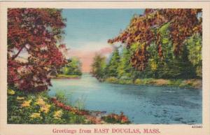 Massachusetts Greetings From East Douglas