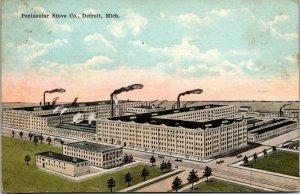 VTG Postcard Peninsular Stove Co Detroit Michigan 1922 Kingston Red Cross  46