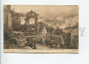 3184022 FRANCE NEUVILL cemetery Saint-Privat Vintage postcard