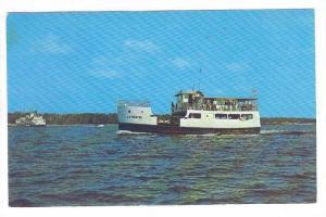 C.G. Richter Washington Island Ferry, Door County, Wisconsin, 40-60s