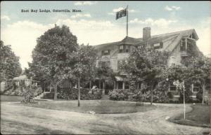 Osterville Cape Cod MA East Bay Lodge c1910 Postcard #4