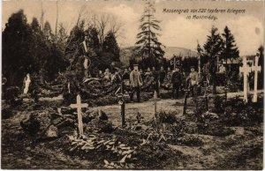 CPA Montmedy - Massengrab von 520 Tapferen Kriegern (1036747)