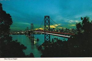 California San Francisco The City At Night