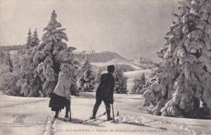 AIX-LES-BAINS, Savoie, France; Plateau du Revard, Sports d'hiver, 00-10s