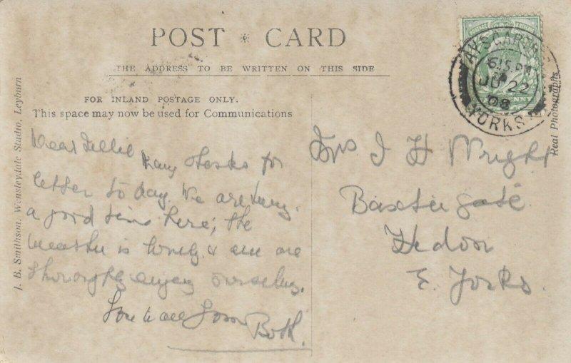 RP: AYSCARTH , Yorkshire , UK , 1908