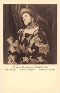 Girolamo Romanino 1485-1566 Portrait d'homme