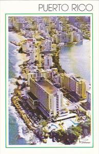 Puerto Rico Aerial View Of Condado