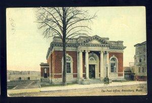 Amesbury, Massachusetts/MA/Mass Postcard, Post Office