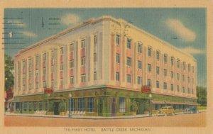 BATTLE CREEK , Michigan, 1930-40s ; The Hart Hotel